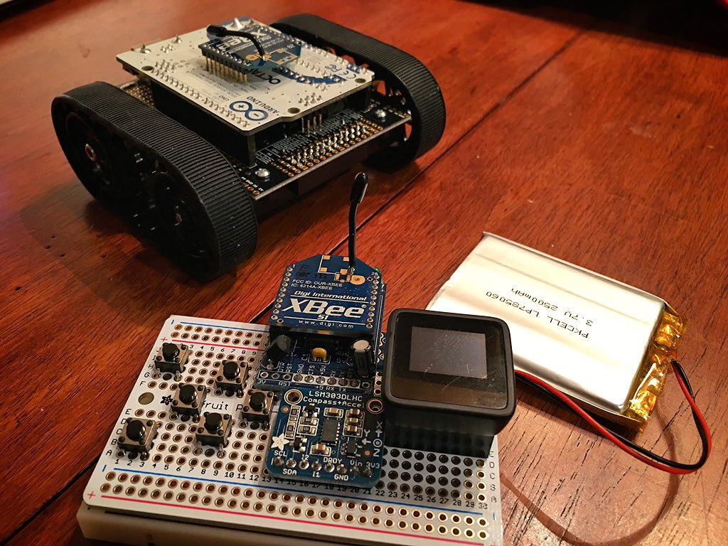 Arduino Robot Tank Photo #394